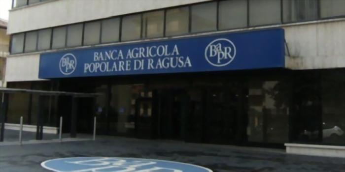 La Banca Agricola di Ragusa mette 3 milioni per riacquisto azioni