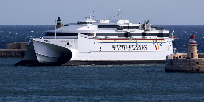 La Virtu Ferries esorta i turisti a fare il tampone prima di viaggiare