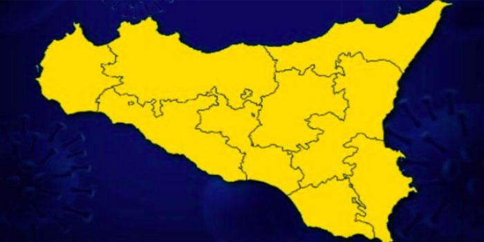 """Situazione covid: altre 2 settimane """"in giallo"""" per la Sicilia"""